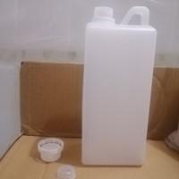 Botol Plastik Jerigen 1 L Segel Tutup luar dalam