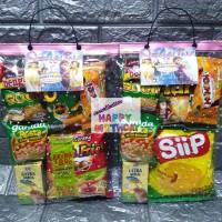 Paket bingkisan ulang tahun/paket Snack ultah
