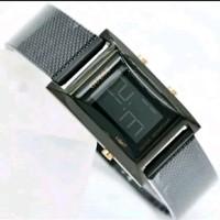 jam tangan guess digital kotak jam tangan wanita rantai pasir kotak