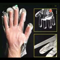 sarung tangan plasti 100pcs