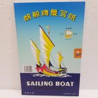 Carbon Paper / Kertas Karbon Folio Single Side Sailing Boat
