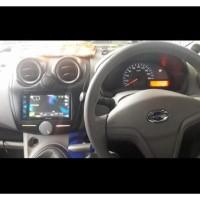 Frame OEM-Fit Double din Tape Audio Head Unit TV Mobil for DATSUN GO
