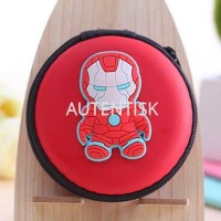 Case Mini Earphone Model Superhero - C739