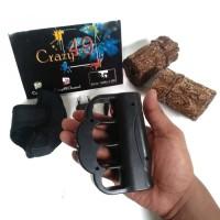 Stun Gun Flashlight Senter Kejut Listrik Hand Type Krakling 068 P162
