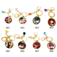 Anime Dangan Ronpa Danganronpa V3 Key Chains Two sided Keychain