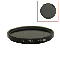 52mm Infrared Infra-red IR Pass X-Ray Lens Filter 720nm 720 Optical