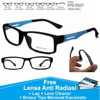 jual berbagai model frame dan lensa Frame Kacamata Pria Anti Radiasi