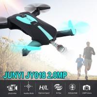 Bayar Di Tempat?? SM ?? Jun JY018 Drone Selfie Saku 2.4GHz WiFi FPV