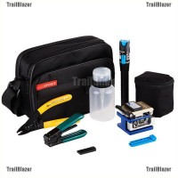 TBID belle 9 In 1 Fiber Optic FTTH Tool Kit with FC-6S Fiber Cleaver