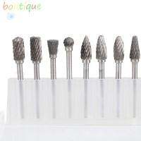 Bou❀☝10X Solid Carbide Carbide Burrs for Rotary Drill Die