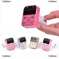 Tbid 1Pc Transmitter FM Wireless Bluetooth + MP3 Player + Charger