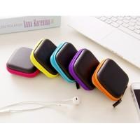 IC3A 321 Tas Penyimpanan Headset Serbaguna Bentuk Kotak earphone