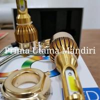 TURBO LED C6 GOLD H4 NEW