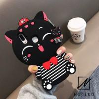 Asus Zenfone 5 2018 Cat 3D Kitty Silikon Soft Case Casing Imut Lucu