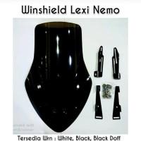 Windhsield Visor Nemo + Braket For Yamaha Lexi