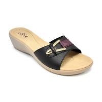Carvil Sandal Wanita LIZA-03L BLACK