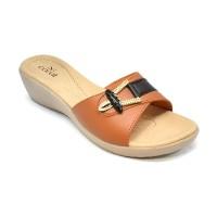 Carvil Sandal Wanita LIZA-03L STONE