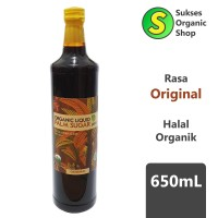 Organic Liquid Palm Sugar/Gula Aren Cair Organik | Arenga | 650ml
