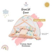 Kasur Bayi Set Crown New Catra + Kelambu / Bumbee + Dus