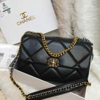 Fashion sling bag kulit CHNL semprem