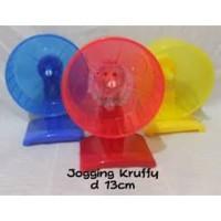 Mainan Roda joging Wheel puteran kincir Hamster Gerbil jogging Kruffy