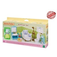 Mainan Koleksi Sylvanian Families Bathroom Set