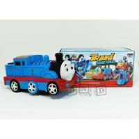Mainan Anak - Train Go Go Transform Robot Kereta Thomas Deform Biru