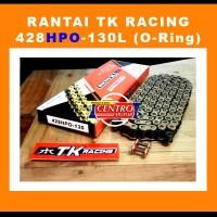 Rantai TK O-Ring 428 HPO-130L Gold RANTAI MOTOR VIXION/CB150R/SATRIA F