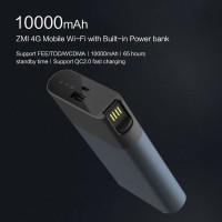 Xiaomi ZMI 4G Wifi Router 10000 mAh Power Bank whit Mobile Hotspot