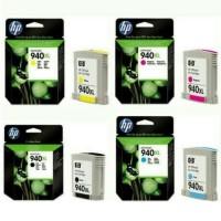 PAKETAN TINTA HP 940XL BLACK DAN 940XL COLOR (C.Y.M) ORIGINAL