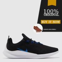 Sepatu Sneakers Pria Original Sepatu Nike Viale - Black/White/Blue