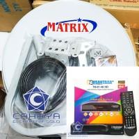 Paket Dish 45cm Transvision Nusantara Tanaka FTA Lokal Trans MNC SCTV