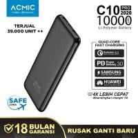 ACMIC C10 PRO C10PRO 10000mAh Power Bank Quick Charge 3.0 PD Power Del