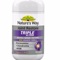 Natures way joint restore triple action isi 60tablet / glucosamine