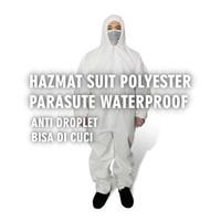 Baju APD parasut / Baju hazmat / COVERALL BAHAN PARASUT Wp