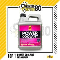 Air radiator power coolant TOP 1 warna merah pink isi 4 liter
