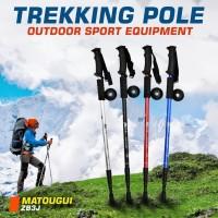 Trekking Pole Tongkat Gunung Hiking Kuat Trekking - Camping