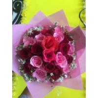 jual bunga mawar asli untuk kado di bandung