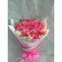 jual bunga handbouquet mawar di bandung