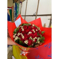 jual bunga mawar asli ukuran besar di bandung