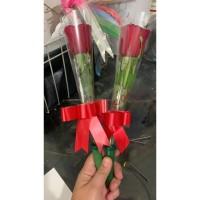 jual bunga mawar asli tangkai di bandung
