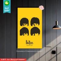 The BEATLES | hiasan | pajangan dinding | poster | kayu | Decor | wall