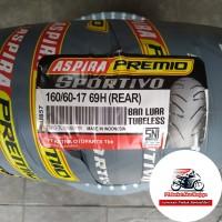 ASPIRA Premio Sportivo 160/60-17 BONUS Pentil,ban belakang motor Sport