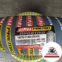 ASPIRA Premio Sportivo 140/70-17 BONUS Pentil,ban belakang motor Sport