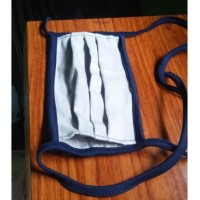masker kain filter tissu home made