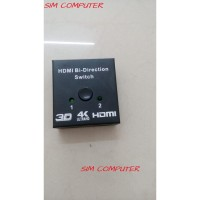 HDMI Bi-Directional 2x1 Switch or 1x2 Splitter Selector 2 Port 3D
