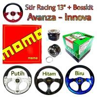 Stir Racing Mobil Toyota Avanza Innova Stir Momo dengan Bosskit HKB