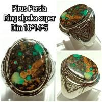 Cincin batu akik permata pirus persia 181455