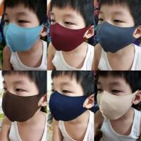 Masker anak scuba premium (adem.lembut.bisa dicuci.mdh bernafas)unisex