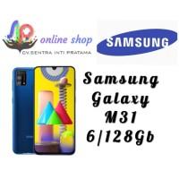 samsung galaxy m31 6/128gb garansi resmi - Biru